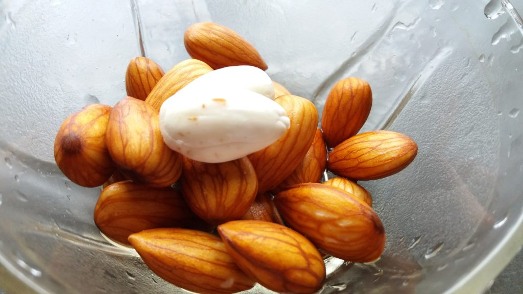 Soaked almonds